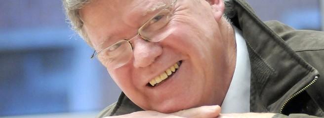 Gerd Tersluisen im Gespräch mit der WAZ Dorsten - © Elschenbroich