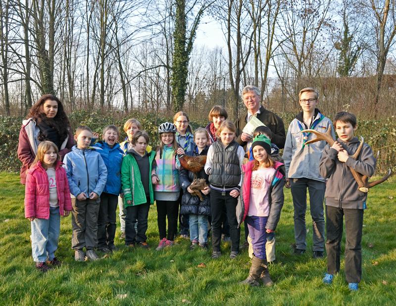 Wir Försterkinder aus Überruhr: Buchvorstellung beim Pfadfinderstamm Eberhard Wittgen
